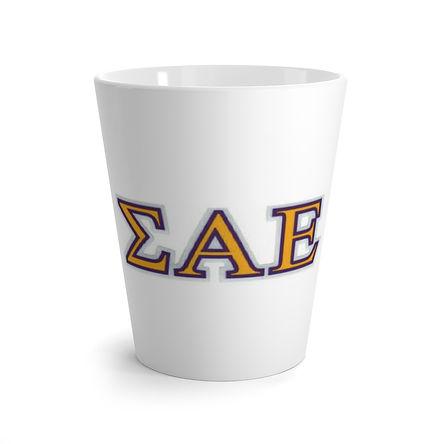Sigma Alpha Epsilon Latte Mug