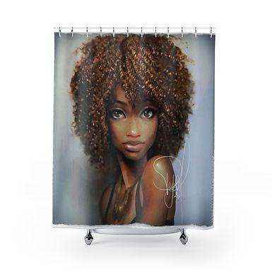 African Maiden Shower Curtains