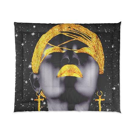 Black Goddess Comforter