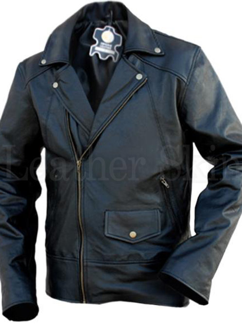Black Brando Leather Jacket