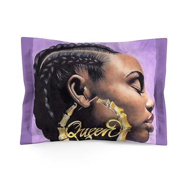 Black Queen Pillow Sham