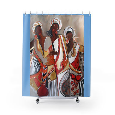 African Maidens Shower Curtains