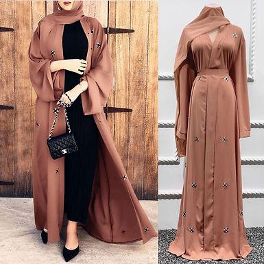 Women Fashion Muslim Long Sleeves