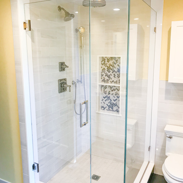 Brookline Master Bathroom