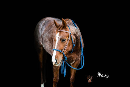 Navy with Weaver headstall