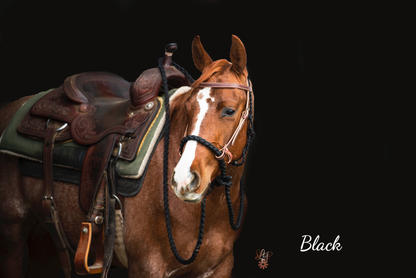 Black with Weaver headstall