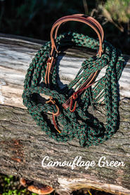 Camouflage Green with weaver headstall