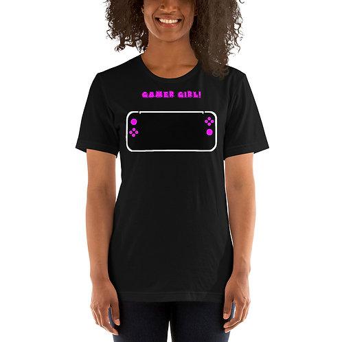 Gamer Girl Short-Sleeve Unisex T-Shirt