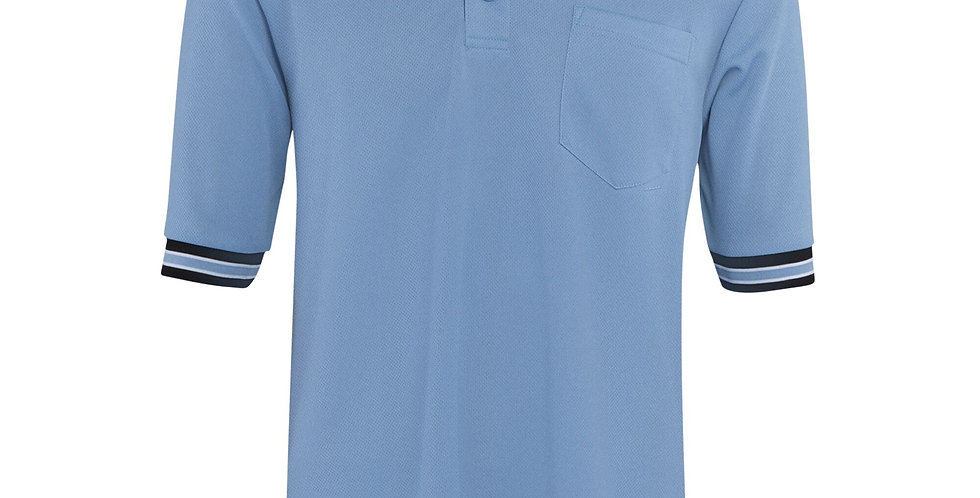 Powder/Black Short Sleeve Umpire Shirt