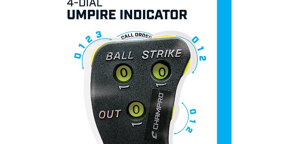 Champro 4 Wheel Umpire Indicator