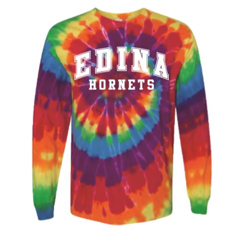 Edina Tie-Dye Long Sleeve T shirt