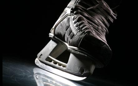 Hockey Skate Blade Contouring