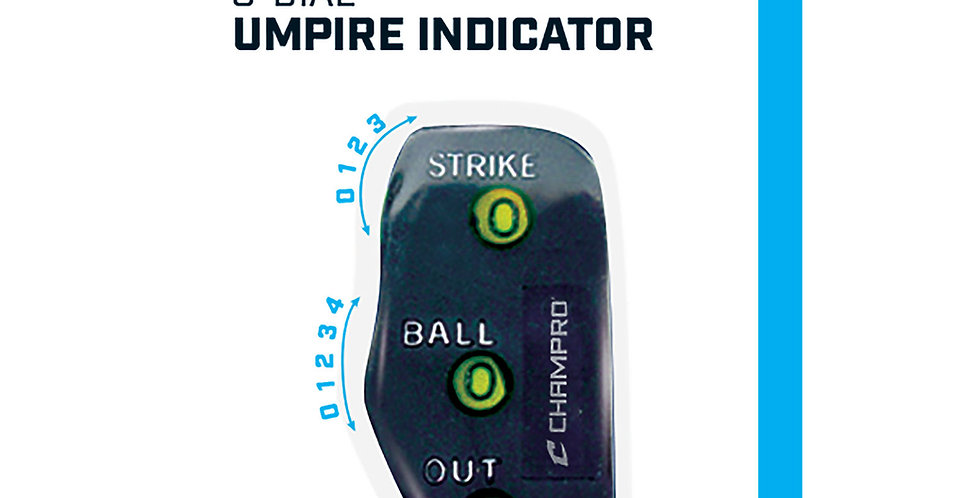 Champro 3 Wheel Umpire Indicator