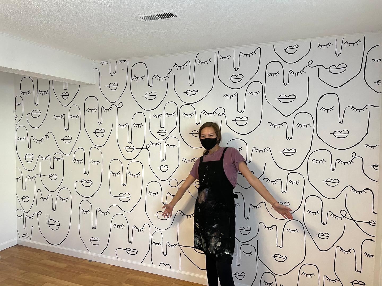 Nazar Beauty Aesthetics Mural
