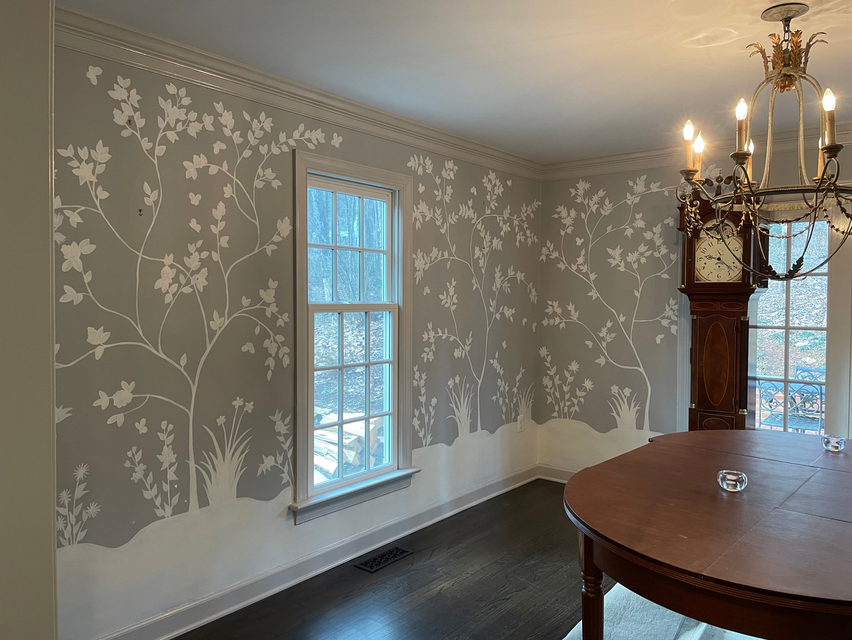 Dining Room Mural (Side 1)