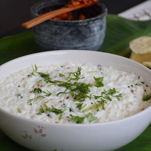 Kerala Curd Rice with Tadka