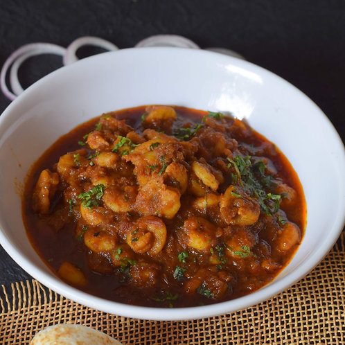 Goan Prawns Masala with Chapatis (x3)
