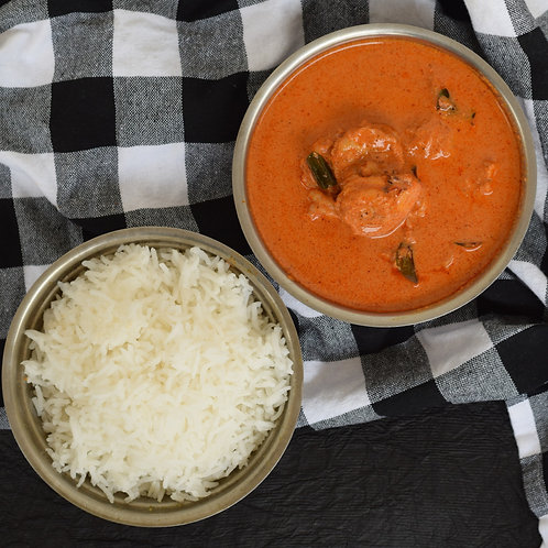 CKP Prawns Curry with Rotis or Rice