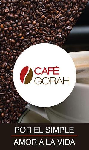 Café Gorah Por el simple amor a la vida.