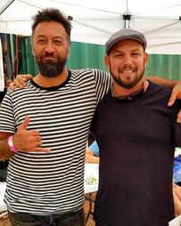 David Spry & Declan Kelly at Garma Festival