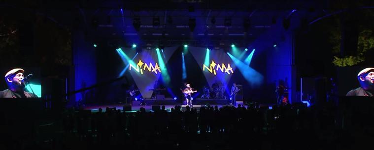 David Spry performing Sorry at The NIMAs National Indigenous Music Awards in Darwin