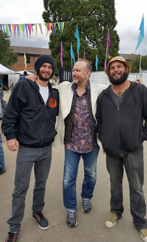 David Spry, Paul White & Colin Hay at Blue Mountains Music Festival