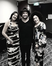 David Spry & Vika & Linda Bull
