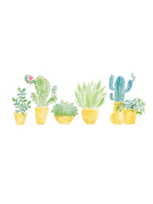 Mini Cactus Print