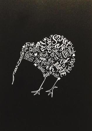 Kiwiana Kiwi Bird