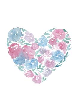 Coloured Heart