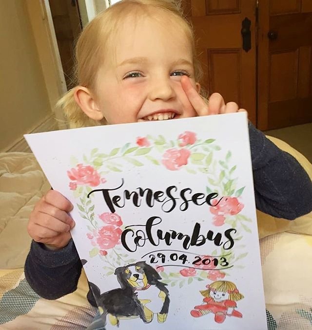 Little miss Tennessee and her gorgeous smile is brighter than the sun today! 😍💛 Thanks so much for