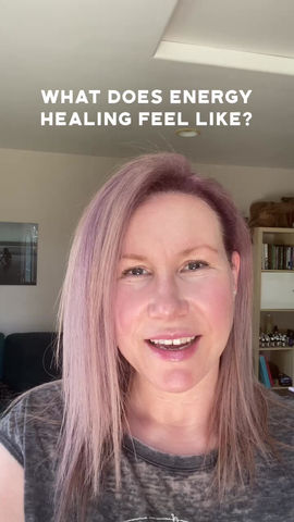 What does energy healing feel like, anyway?