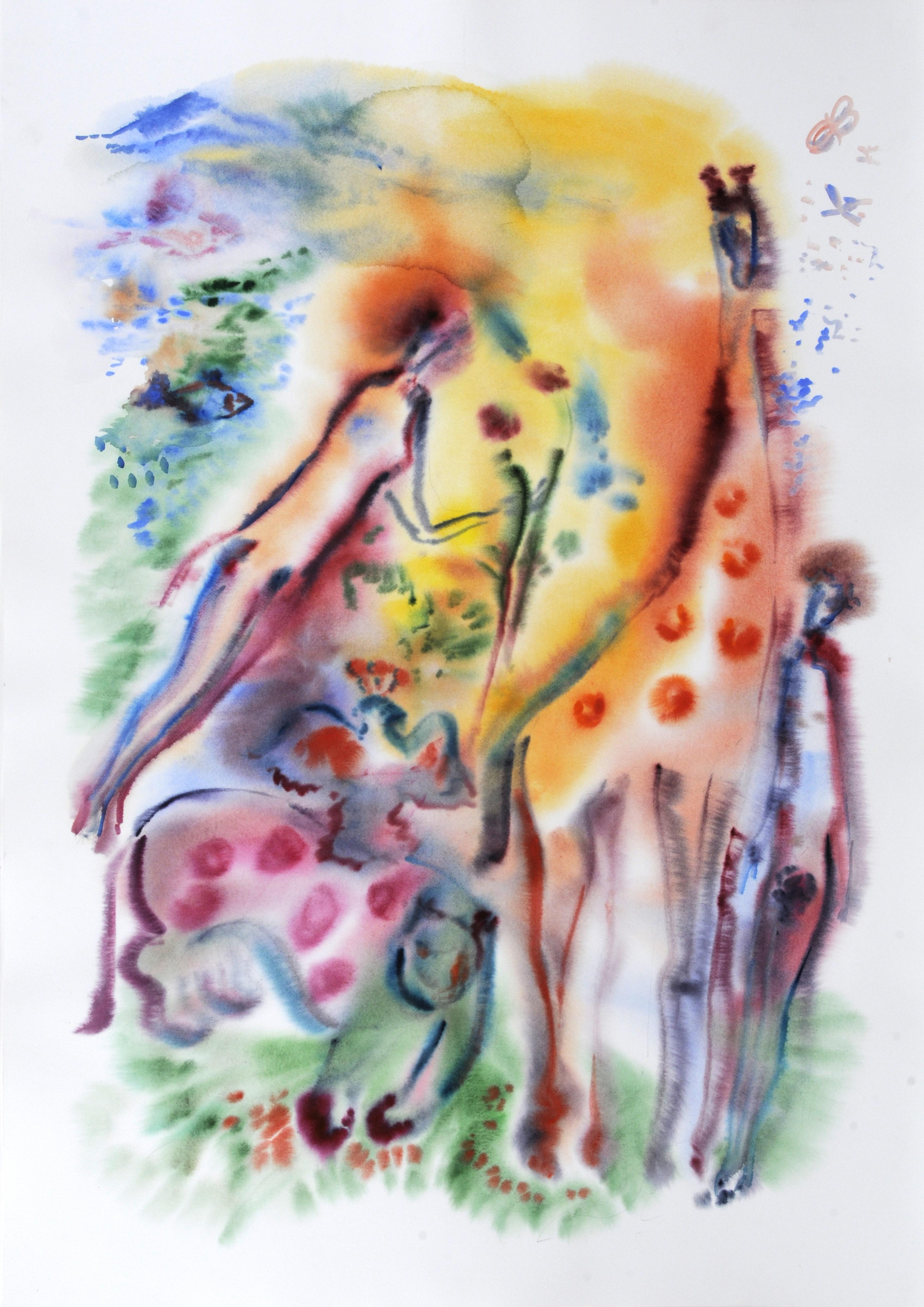 Garden_of_Eden_2_Watercolor_36x51