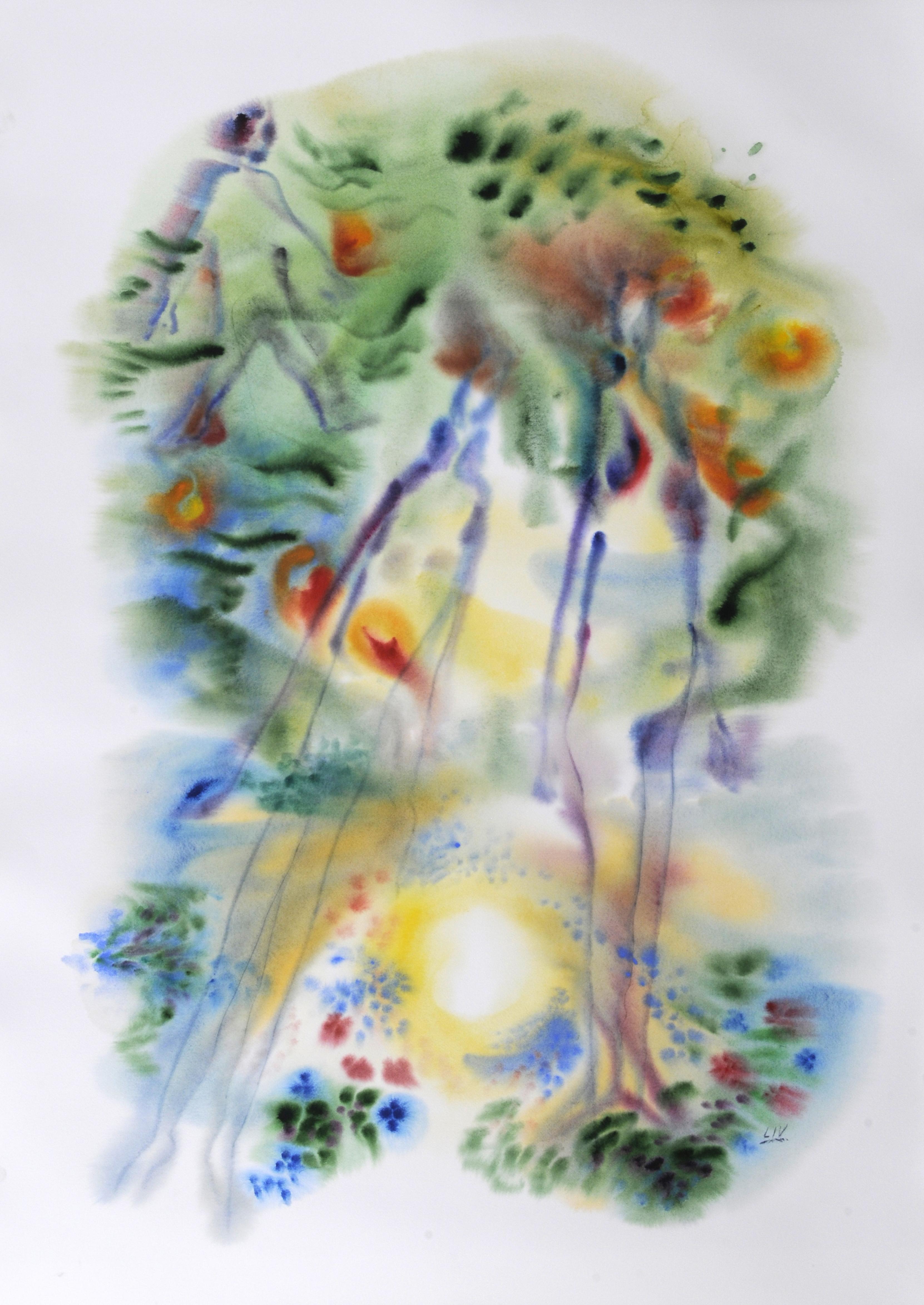 Garden_of_Eden_6_Watercolor_36x51