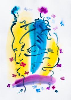Series: Colors in  Flight