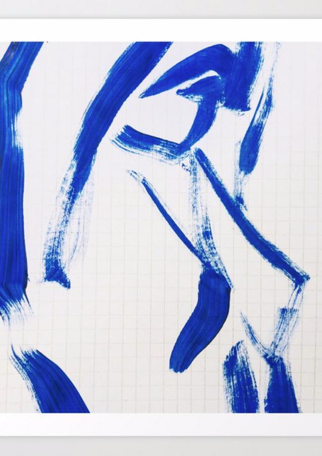 Blue Nude Series