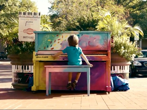 Painted piano for Goodberrys x Cameron V