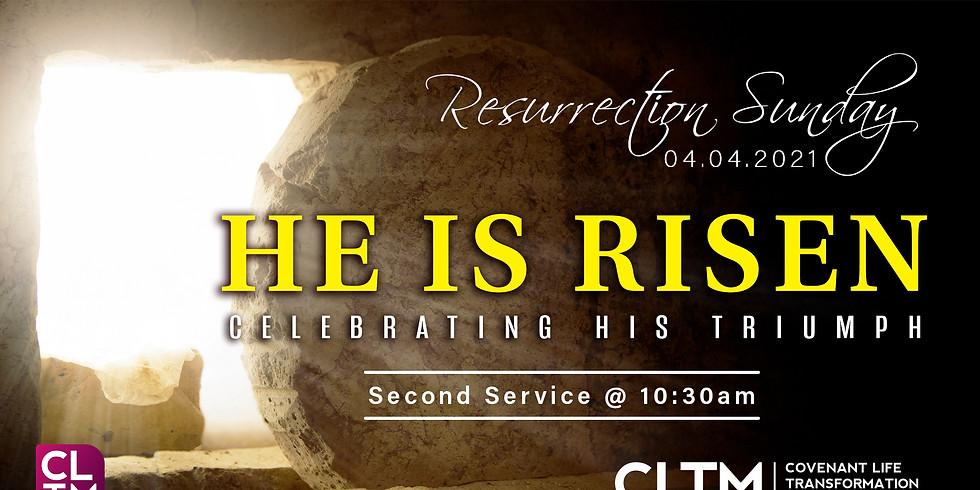 Special Resurrection Sunday Service 10:30am