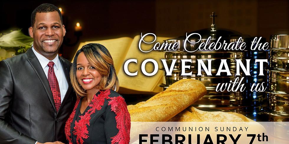 Communion Sunday - February 2021