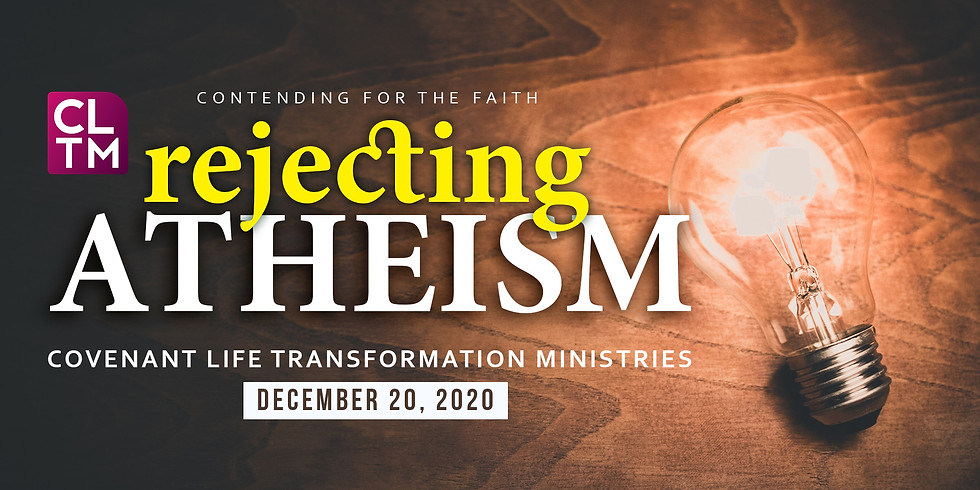 REJECTING ATHEISM