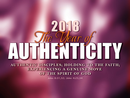 Declaring 2018 The Year of Authenticity