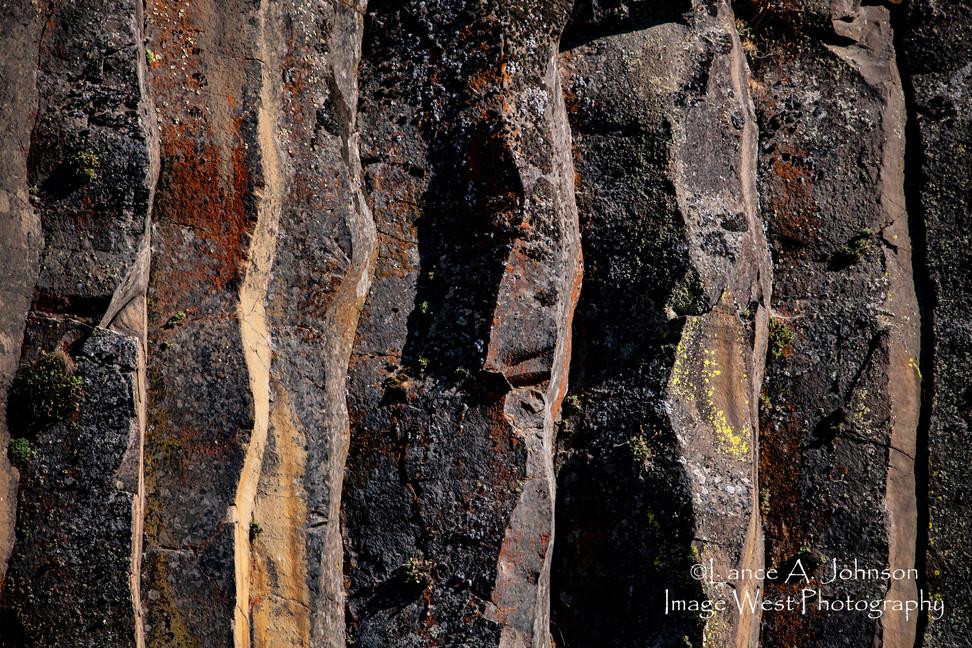 Column Features, Yakima River Canyon, WA