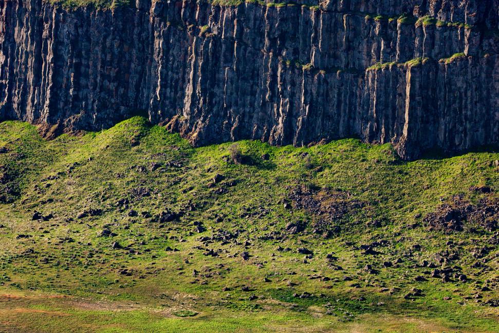 Columner Basalt, Columbia River Gorge, W