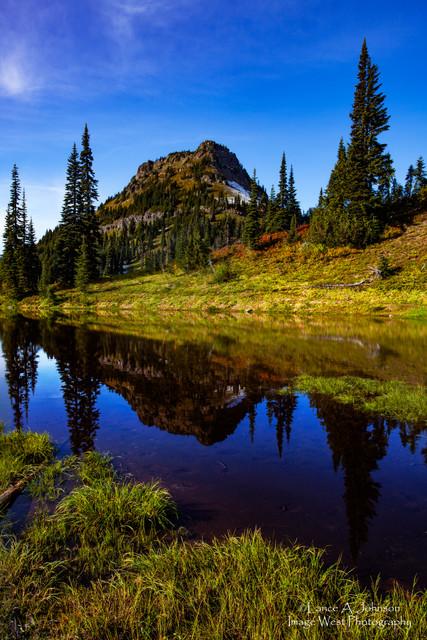 Naches Peak, Mt Rainier National Park, W