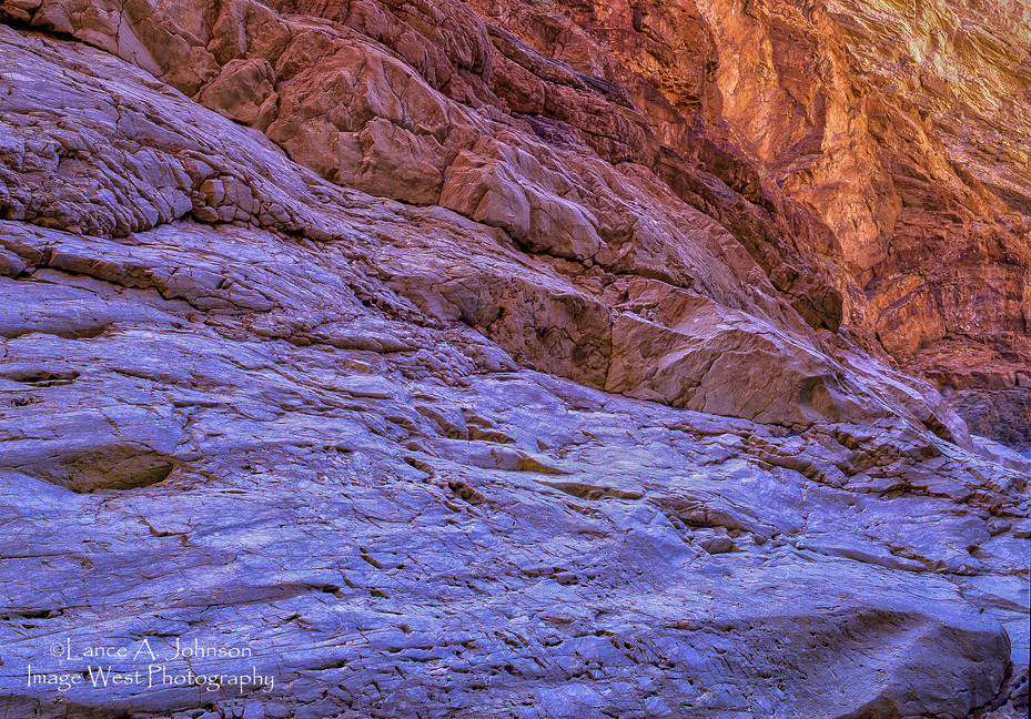 Marble Rock Formation at Death Valley, C