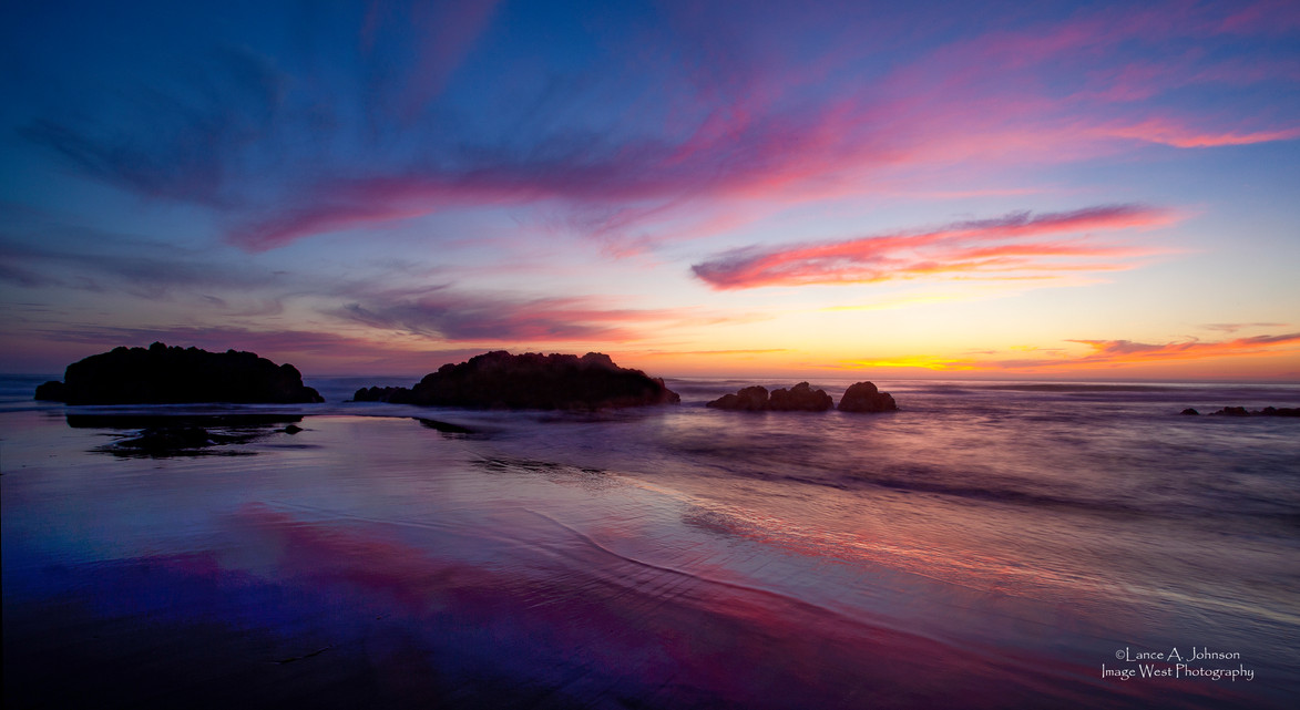 Sunset at Lincoln City Beach, OR.jpg