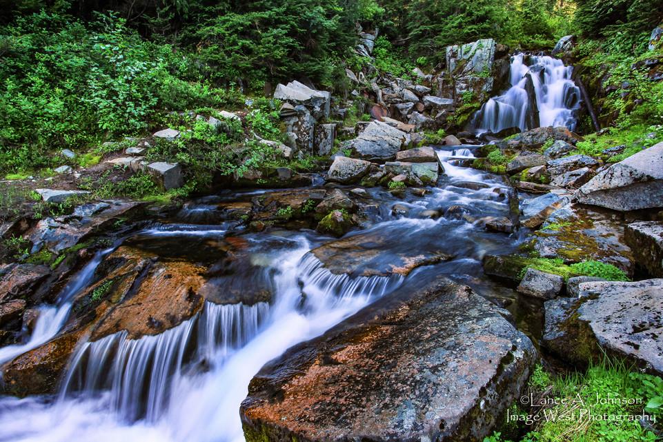 Sunbeam Creek, Mt Rainier National Park,