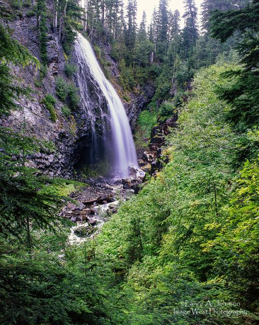 Narada Falls, Mt Rainier National Park,