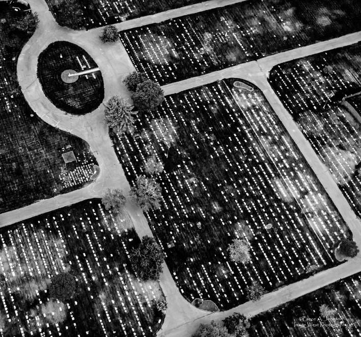 Aerial of Tahoma Cemetary, Yakima, WA.jp