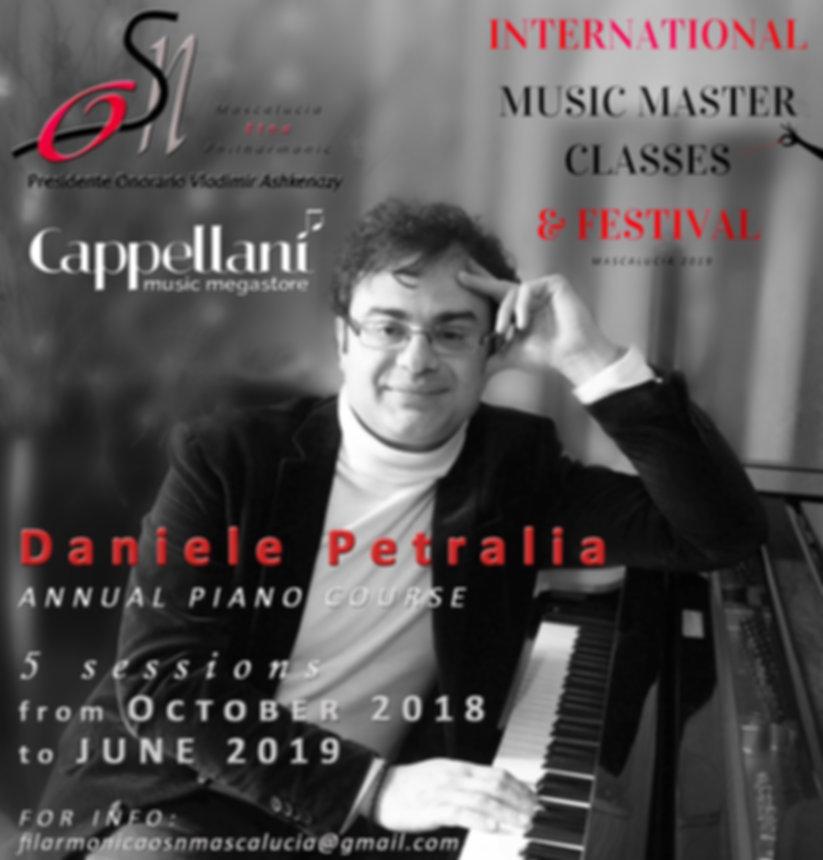 Petralia annual course with Cappellani's